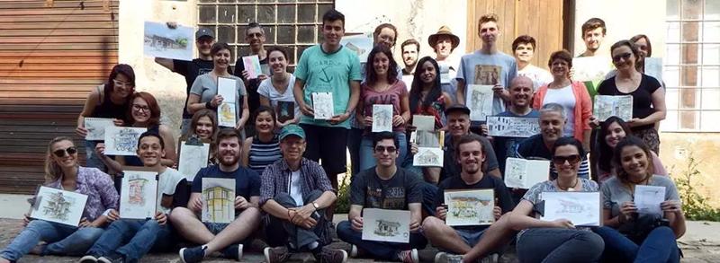 Curso Online de Desenho Realista para iniciantes - fazer parte de uma comunidade