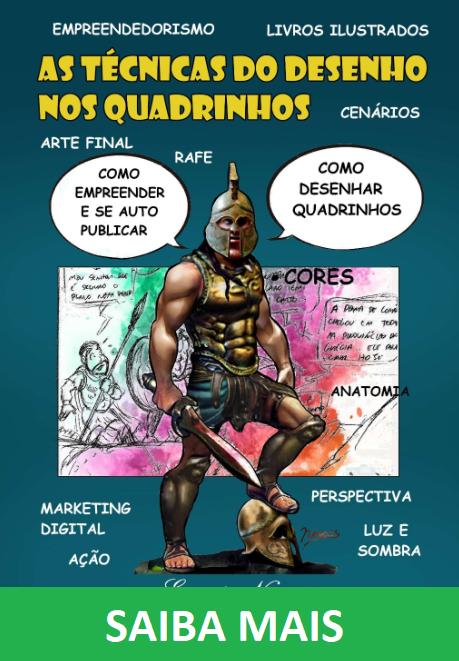 as técnicas do desenho nos quadrinhos