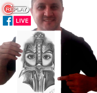 Desenho Realista: Replay da Live no Facebook (Aula Grátis)