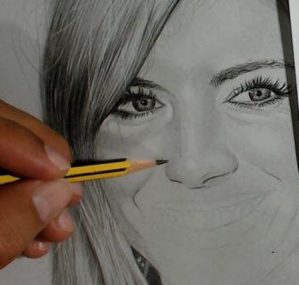 como desenhar nariz realista