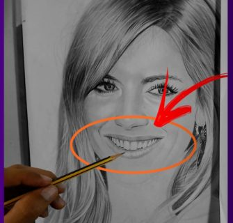 Como Desenhar uma Boca Realista em Um Retrato facilmente