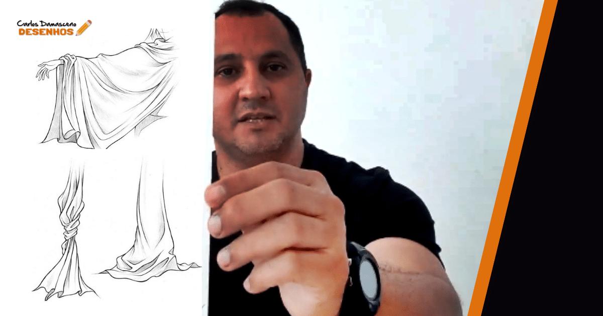 Como fazer Textura de Tecido nos seus Desenhos Realistas