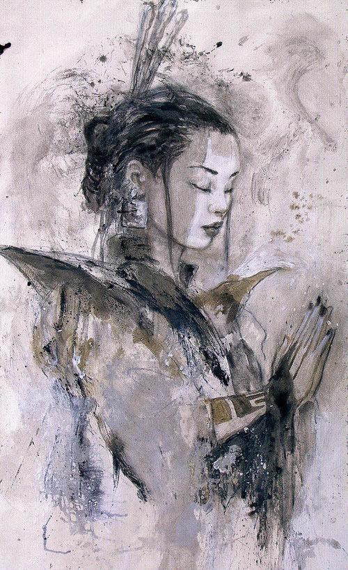 Pintura de Luis Royo