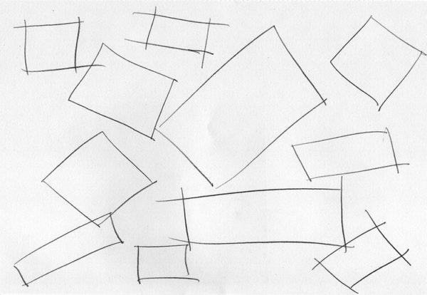 Exercício 3: Quadrados e Retângulos