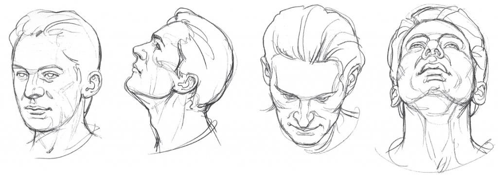 Como fazer um Desenho Realista de retratos: cabeça