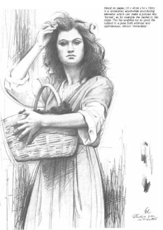 Como fazer um Desenho Realista de retratos:  DRAWING A Complete Guide by Giovanni Civardi
