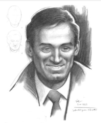 Como fazer um Desenho Realista de retratos:  Giovanni Civardi - retrato de homem