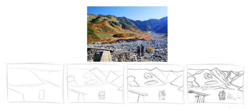 Lição 2 - Aprenda a ver de forma diferente  - uma cena a partir de blocos simples