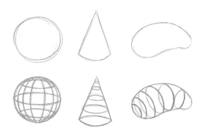 Lição 3 Indo do 2D para o 3D - linhas de contorno