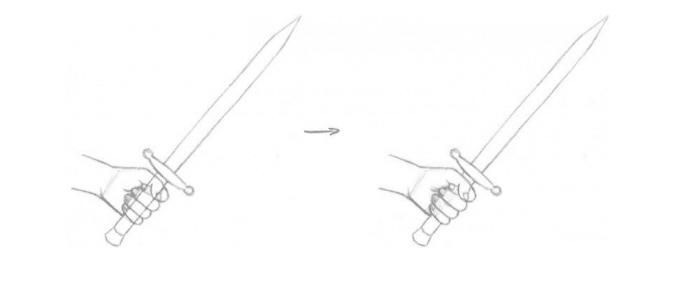 Erros mais comuns ao desenhar - exemplo 1- correção