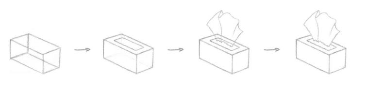 Erros mais comuns ao desenhar - exemplo 3 - a solução