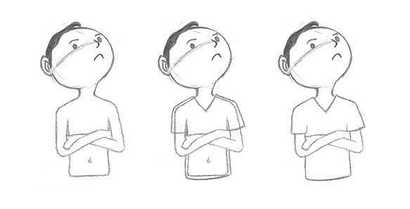 Erros mais comuns ao desenhar - exemplo 5 - a solução