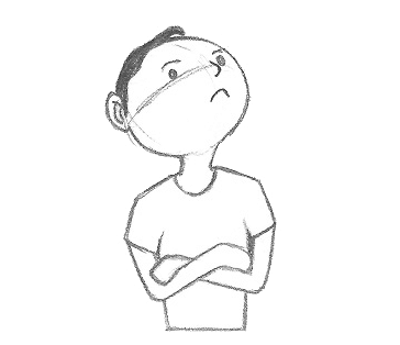 Erros mais comuns ao desenhar - exemplo 5