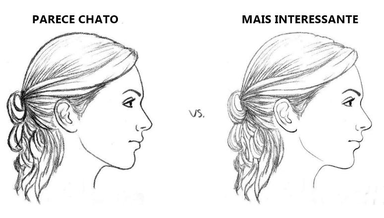 COMO A DIFERENÇA DE ESPESSURA DA LINHA TORNA UM DESENHO MAIS INTERESSANTE